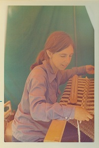 Eleanor at the loom